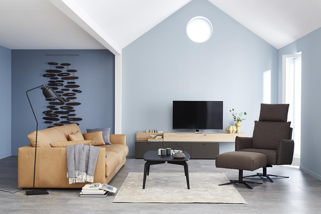 Sofa: «Schöner Wohnen Kollektion» – Exklusiv für Sie im Wallis!