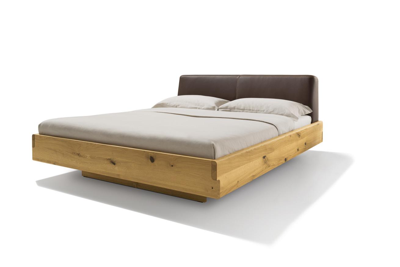 nox Bett mit Lederkopfhaupt von Team 7