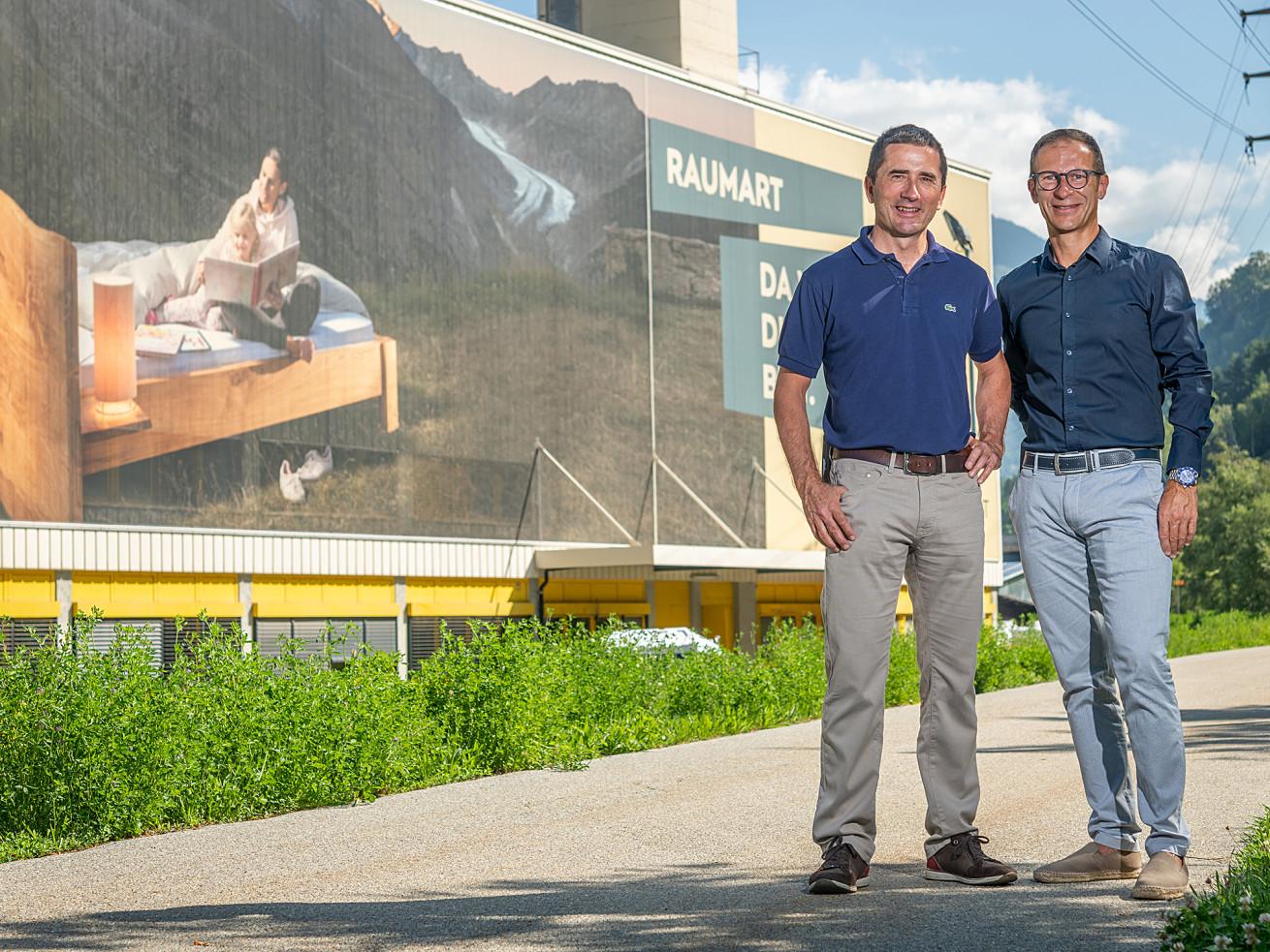 Josef Heynen und Remo Bittel, Geschäftsleitung
