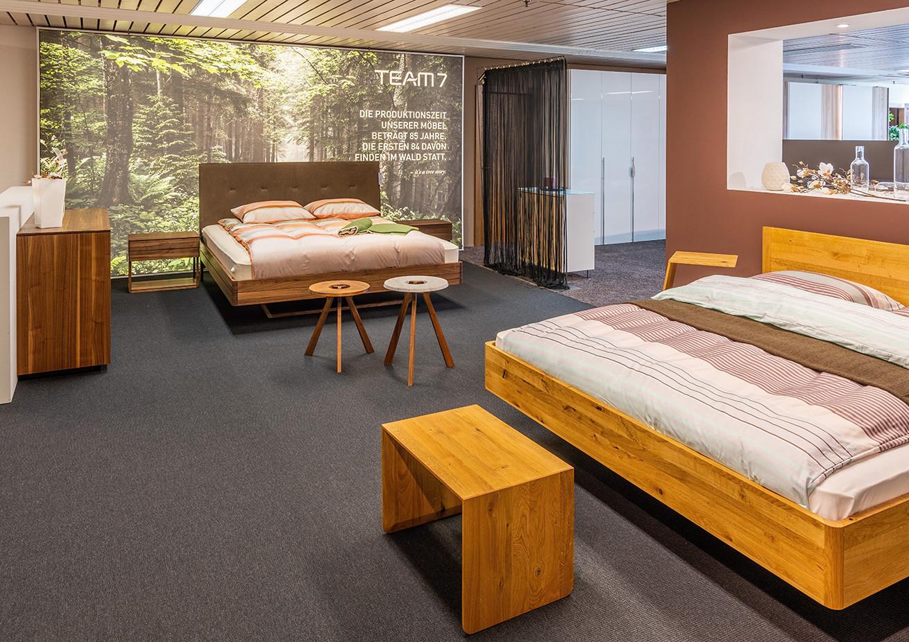 Team7 – Naturholzbetten für Ihr Schlafzimmer