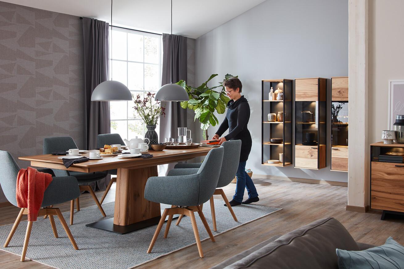 Die schönsten Tische sind bei Raumart –  «Schöner Wohnen Kollektion» – Exklusiv für Sie im Wallis!